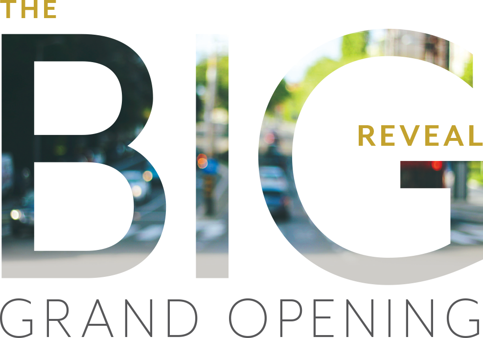 The Big Reveal Grand Opening