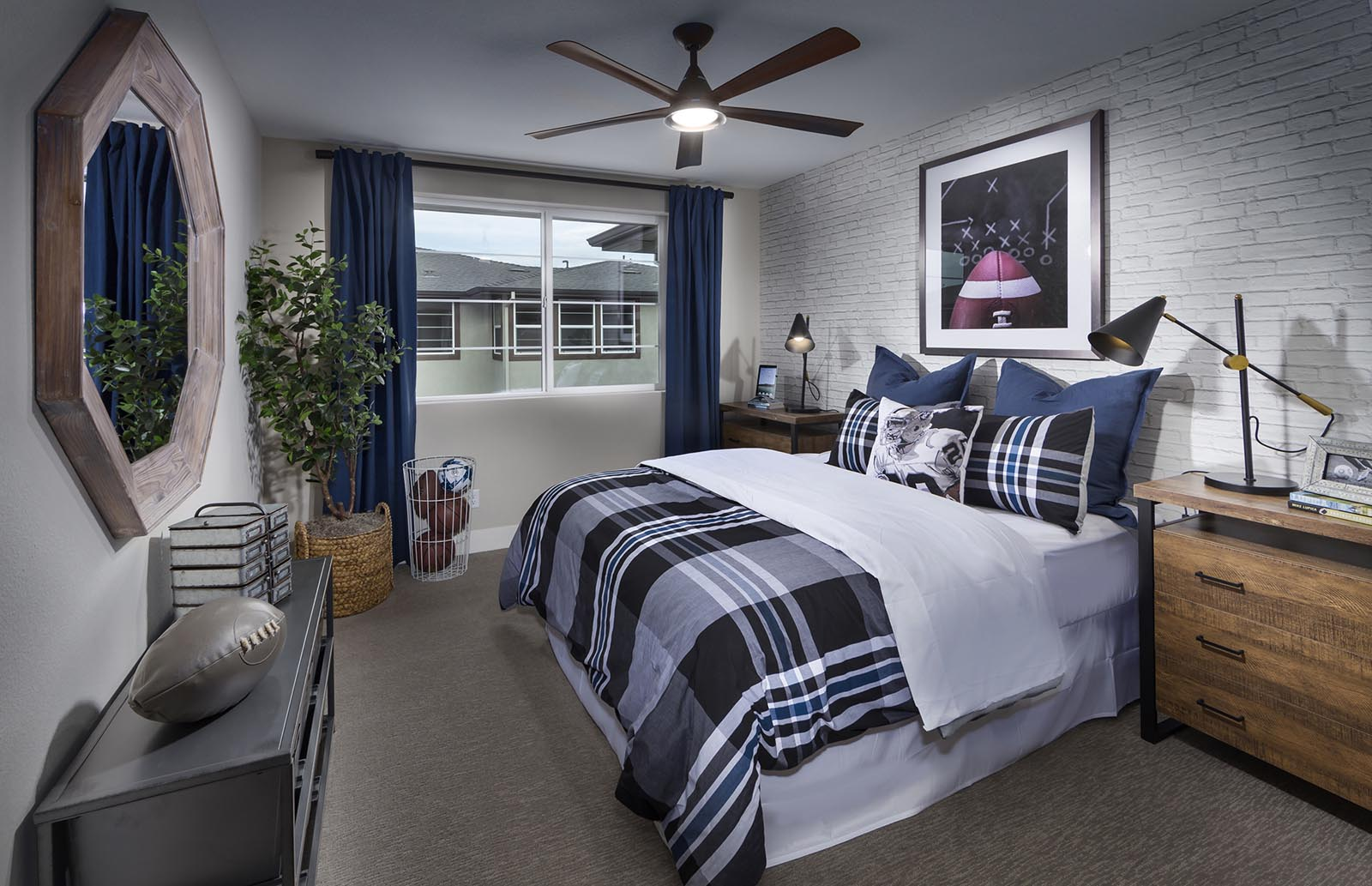 Bedroom 2 Residence 3 | Downing at Boulevard by Lennar, Dublin, CA