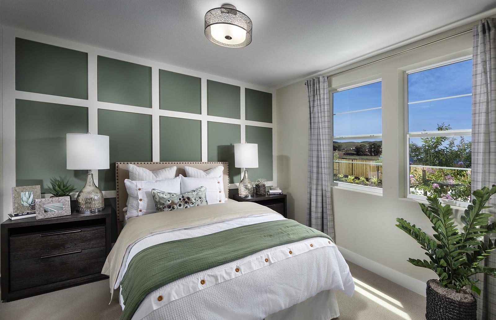 Bedroom 3 Residence 1 | Downing at Boulevard by Lennar, Dublin, CA