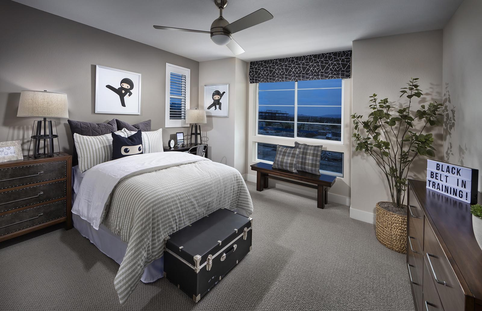Bedroom 3 Residence 4 | Downing at Boulevard by Lennar, Dublin, CA