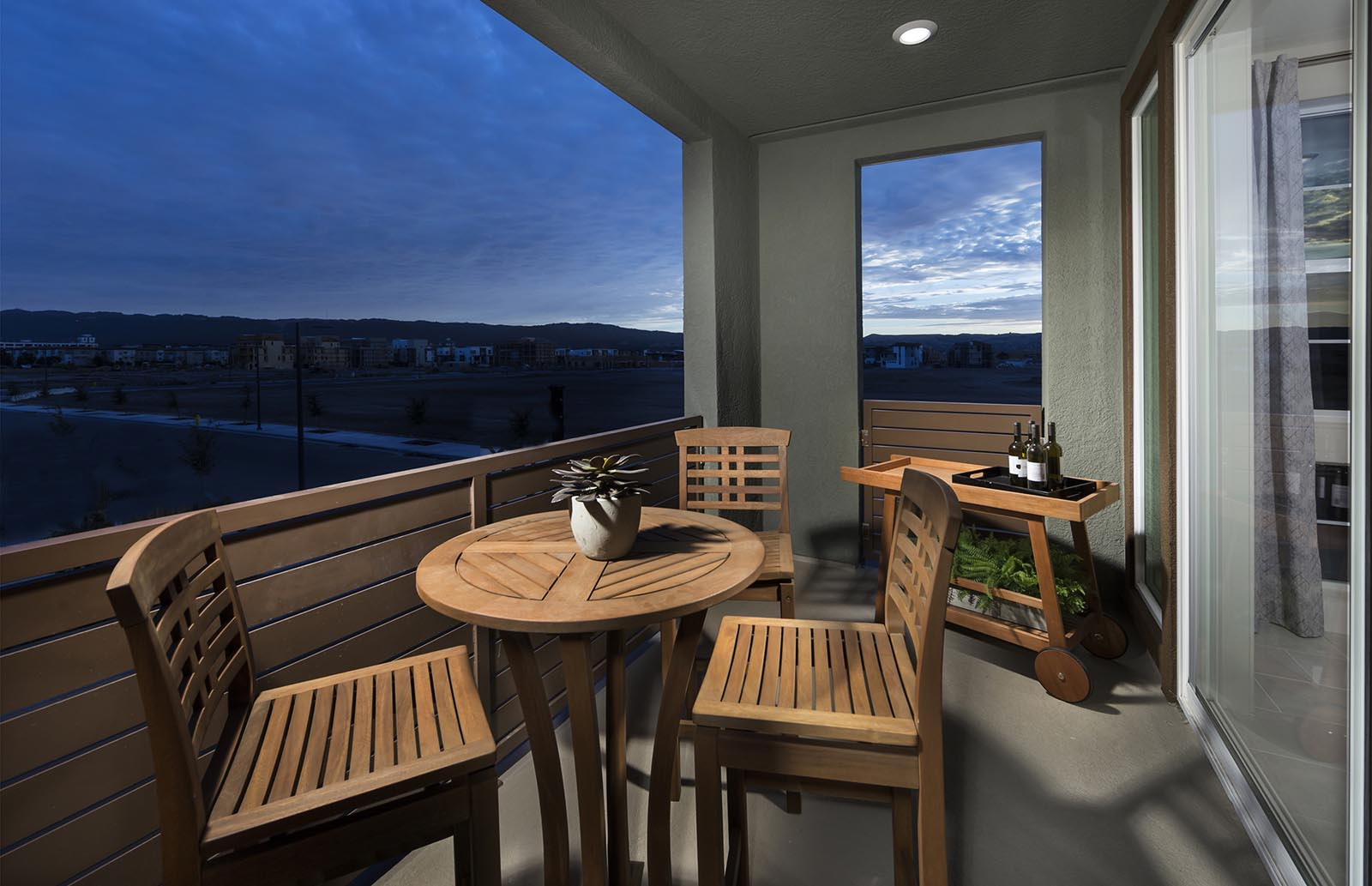 Deck Residence 4 | Downing at Boulevard by Lennar, Dublin, CA