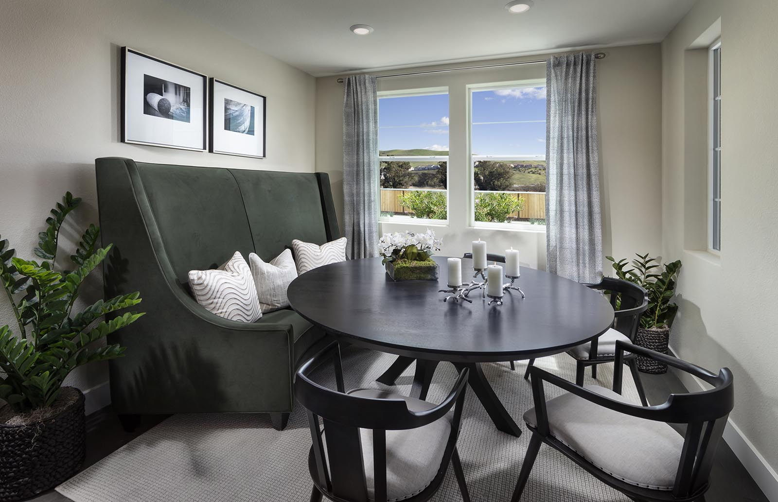 Dining Residence 1 | Downing at Boulevard by Lennar, Dublin, CA