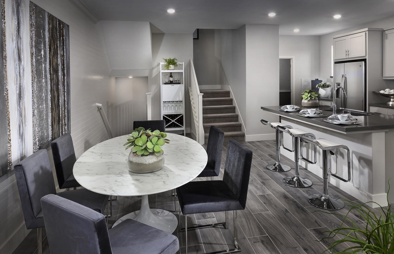 Dining Residence 2 | Downing at Boulevard by Lennar, Dublin, CA