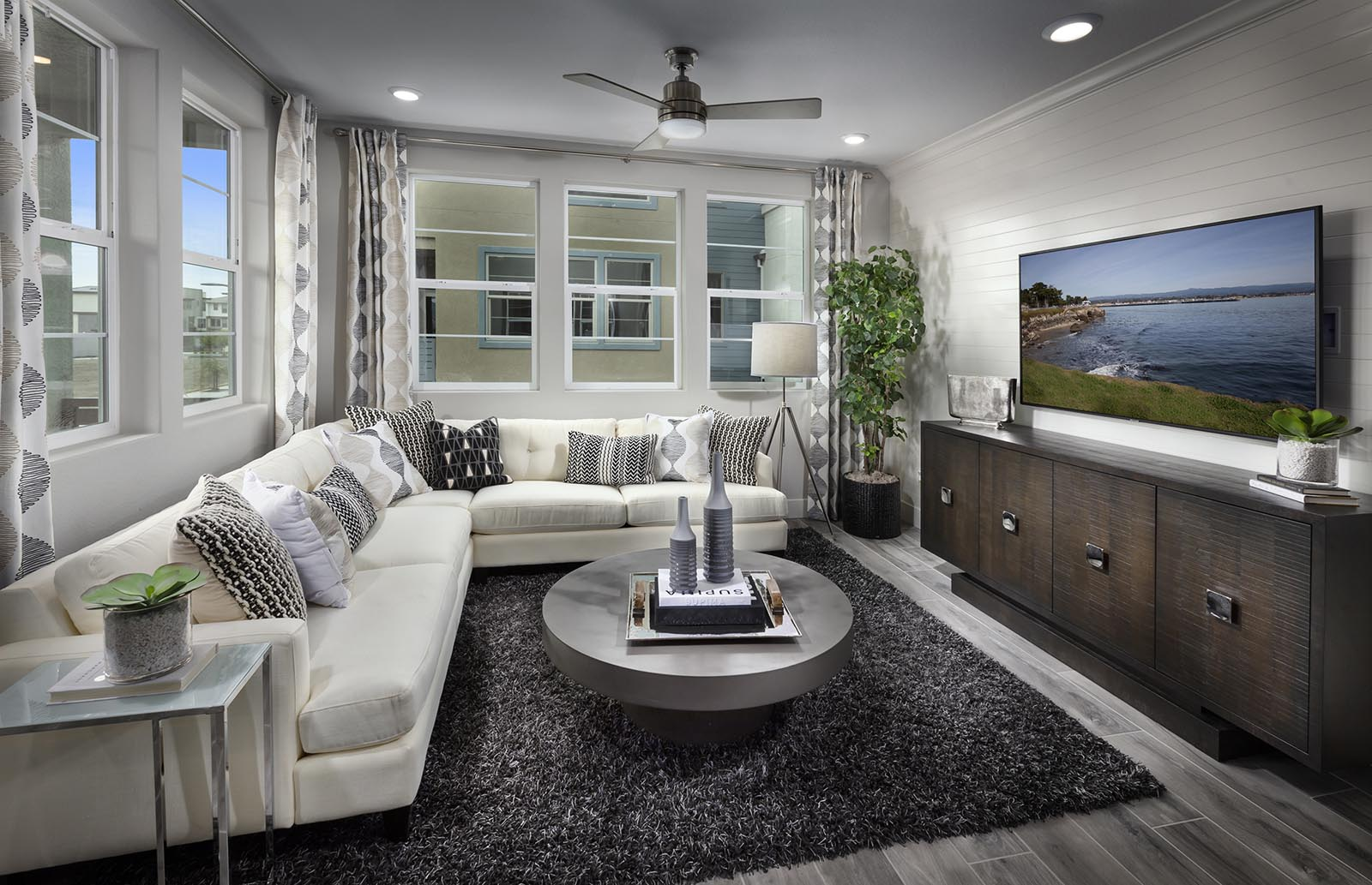 Great Room Residence 2 | Downing at Boulevard by Lennar, Dublin, CA