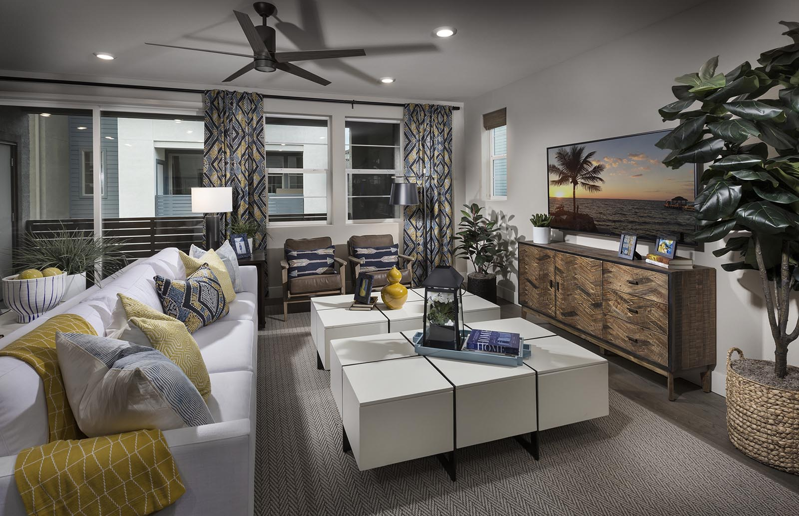 Great Room Residence 3 | Downing at Boulevard by Lennar, Dublin, CA