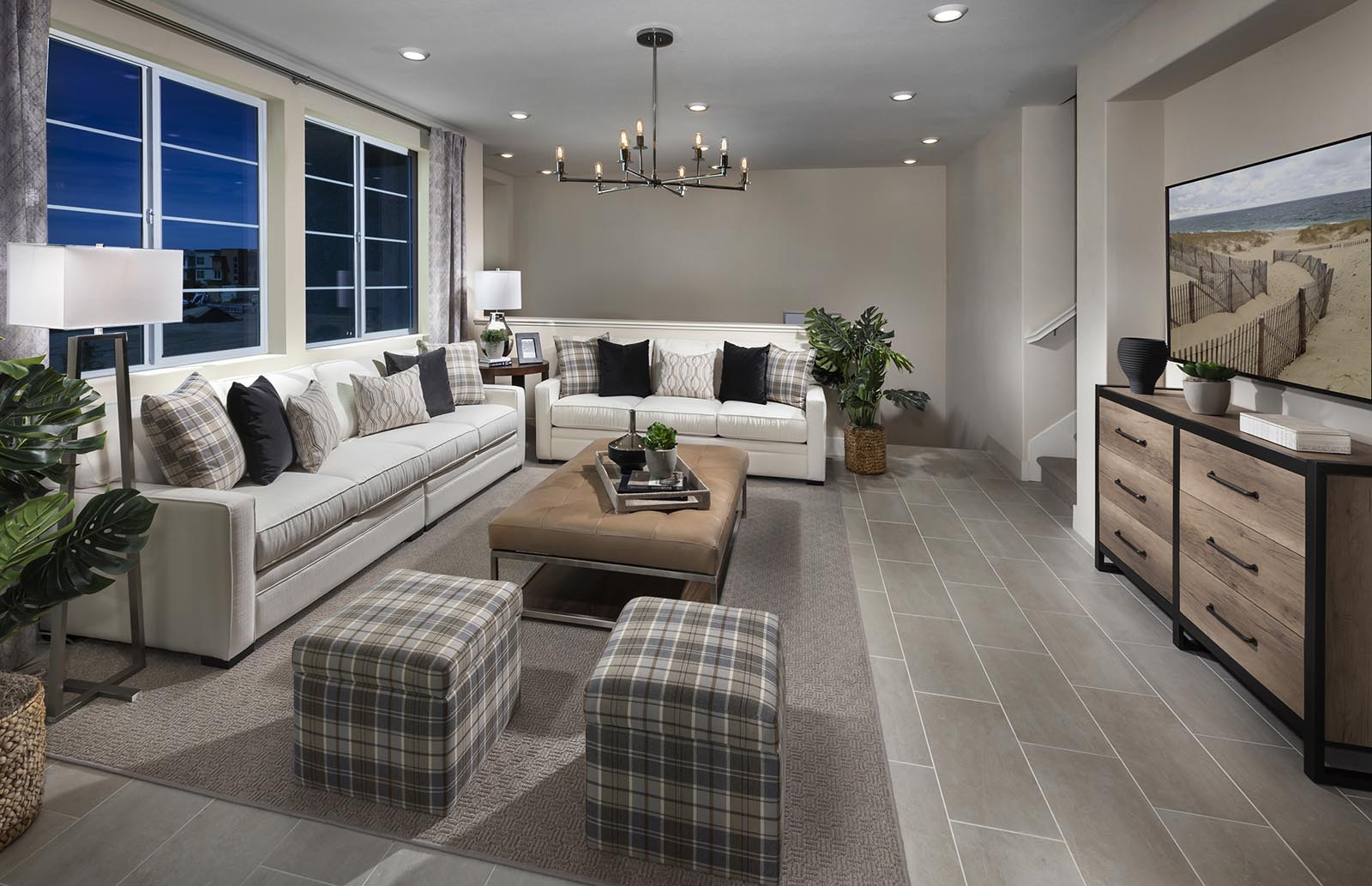 Great Room Residence 4 | Downing at Boulevard by Lennar, Dublin, CA