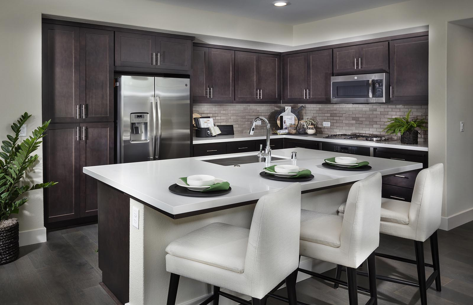 Kitchen Residence 1 | Downing at Boulevard by Lennar, Dublin, CA