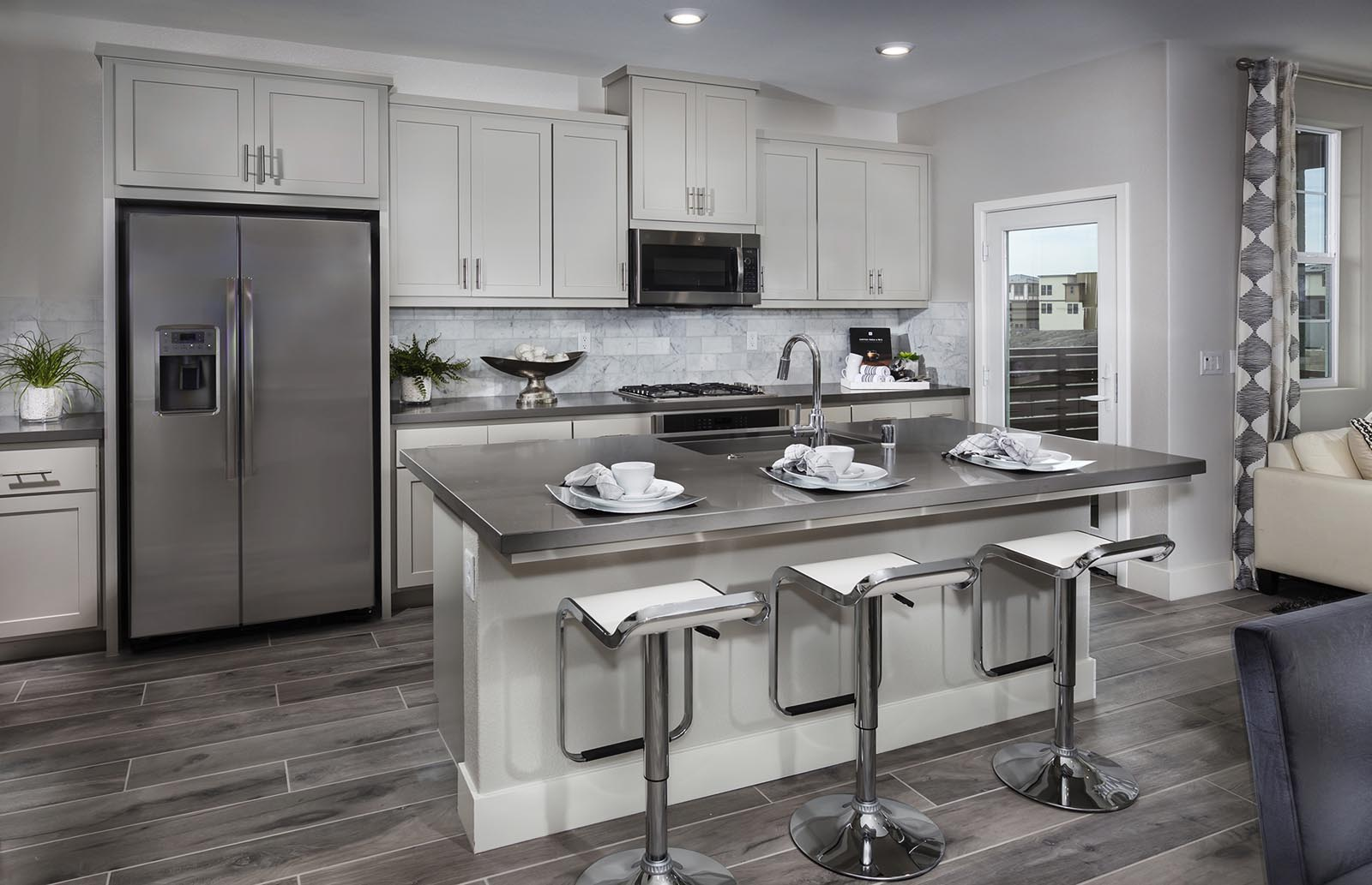 Kitchen Residence 2 | Downing at Boulevard by Lennar, Dublin, CA