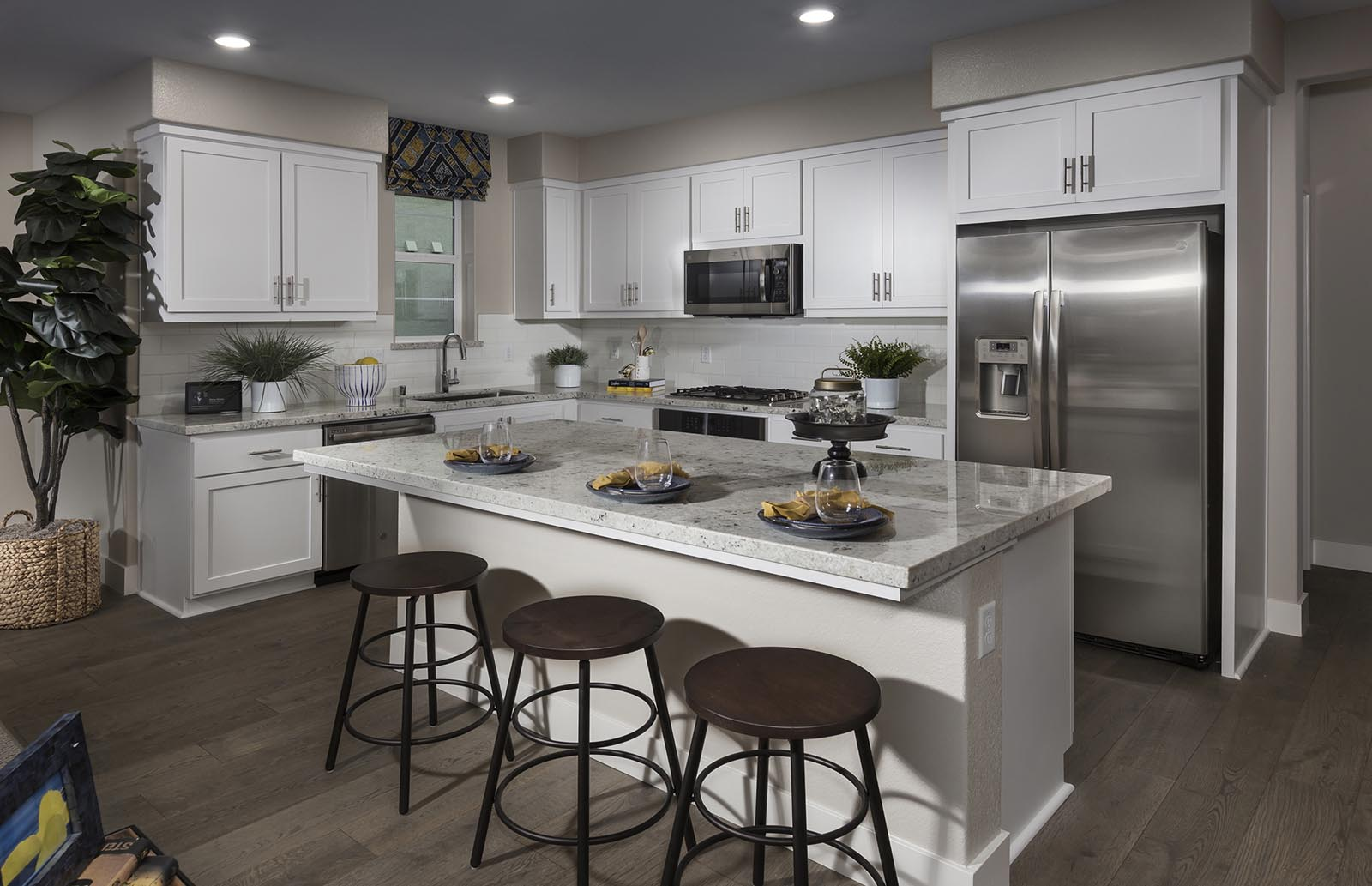 Kitchen Residence 3 | Downing at Boulevard by Lennar, Dublin, CA