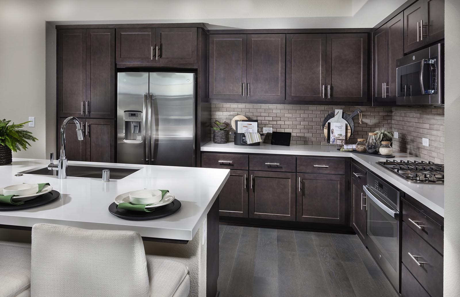 Kitchen detail Residence 1 | Downing at Boulevard by Lennar, Dublin, CA
