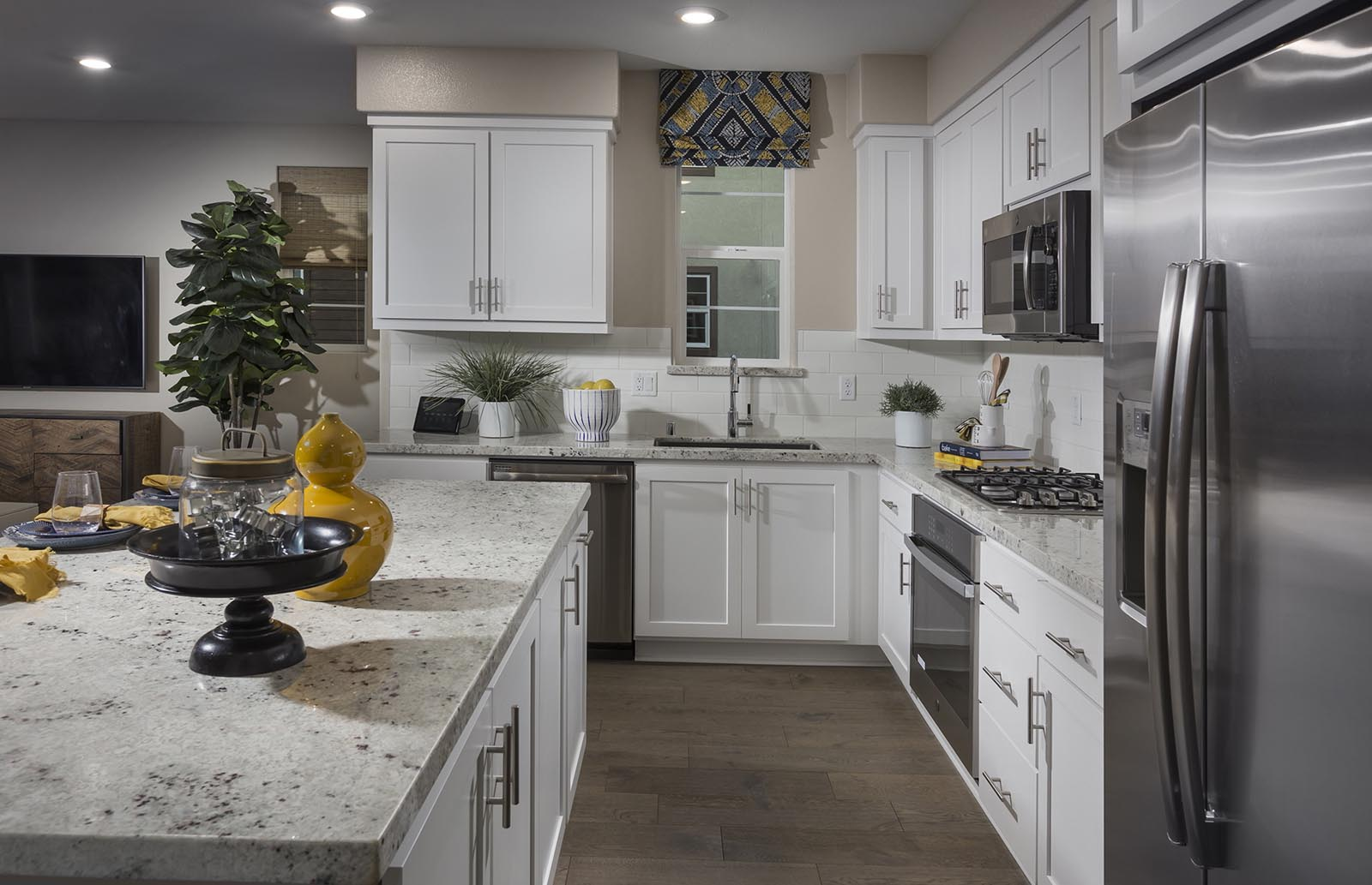 Kitchen detail Residence 3 | Downing at Boulevard by Lennar, Dublin, CA