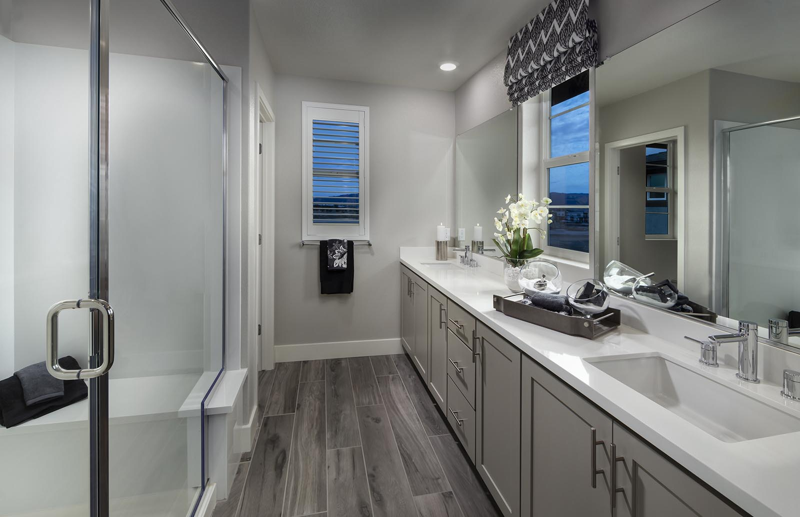Owner's Bath Residence 2 | Downing at Boulevard by Lennar, Dublin, CA