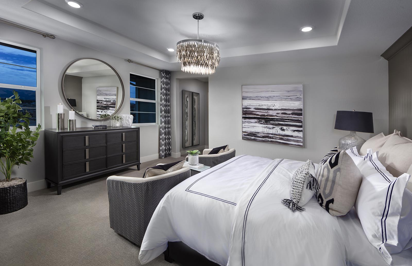 Owner's Suite to Hall Residence 2 | Downing at Boulevard by Lennar, Dublin, CA