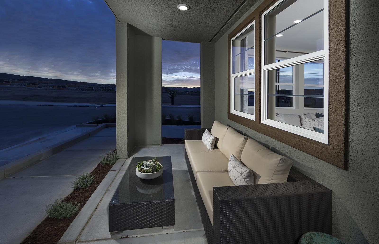 Porch Residence 1 | Downing at Boulevard by Lennar, Dublin, CA