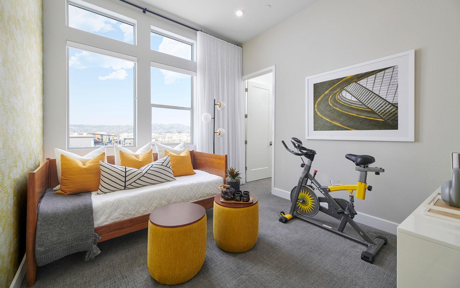 Bedroom 4 | Residence 2 | Hyde Park at Boulevard in Dublin, CA | Brookfield Residential