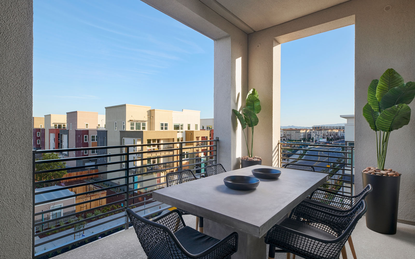Deck | Residence 2 | Hyde Park at Boulevard in Dublin, CA | Brookfield Residential