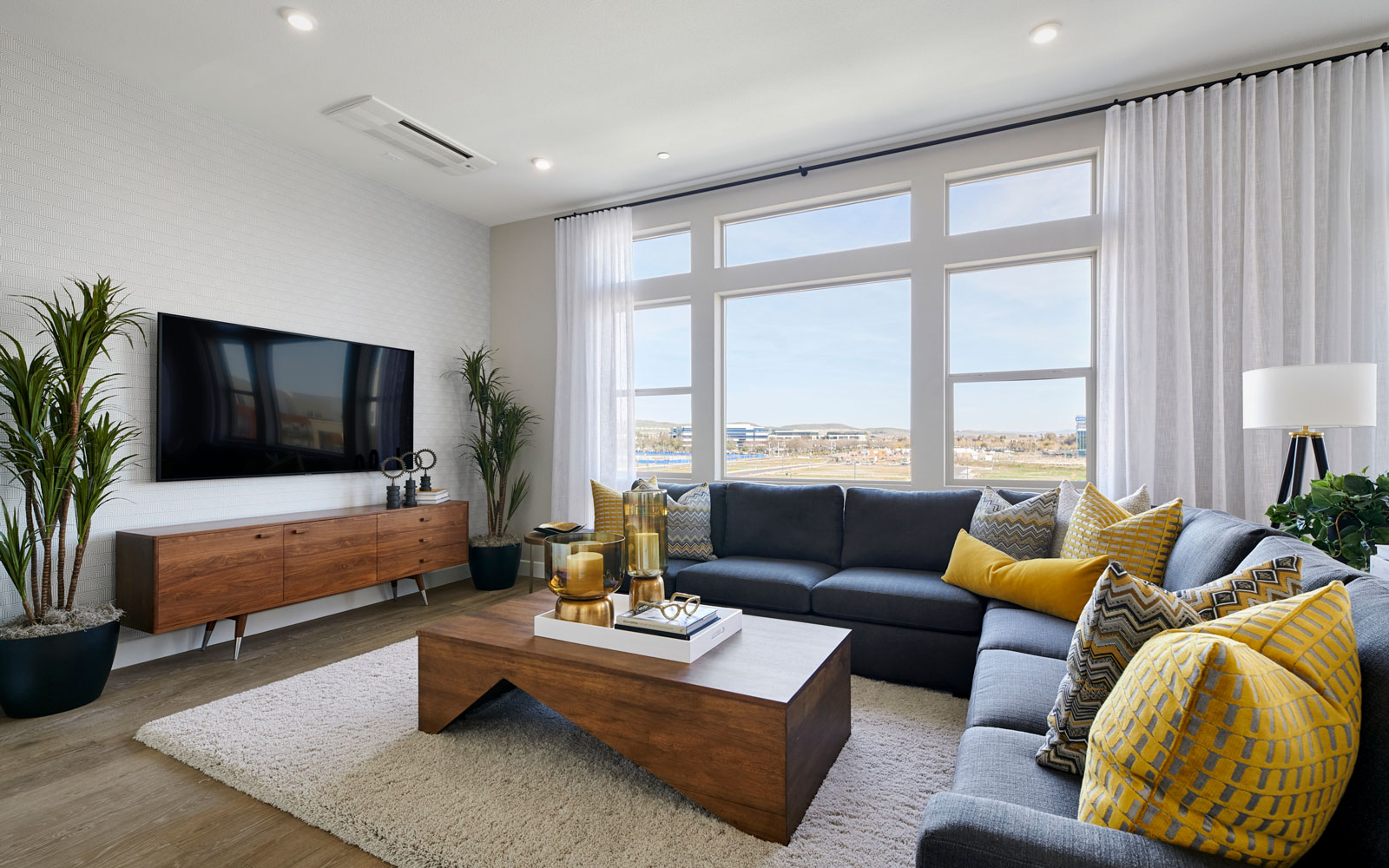 Great Room   Residence 2   Hyde Park at Boulevard in Dublin, CA   Brookfield Residential