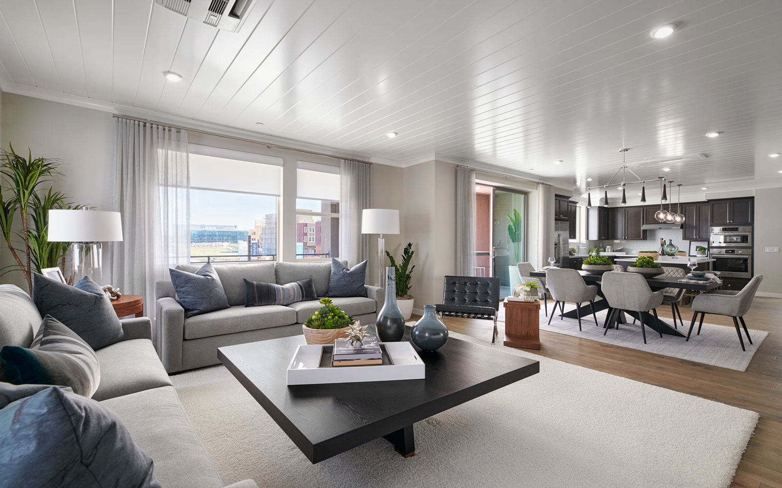 Great Room to Kitchen | Residence 1 | Hyde Park at Boulevard in Dublin, CA | Brookfield Residential
