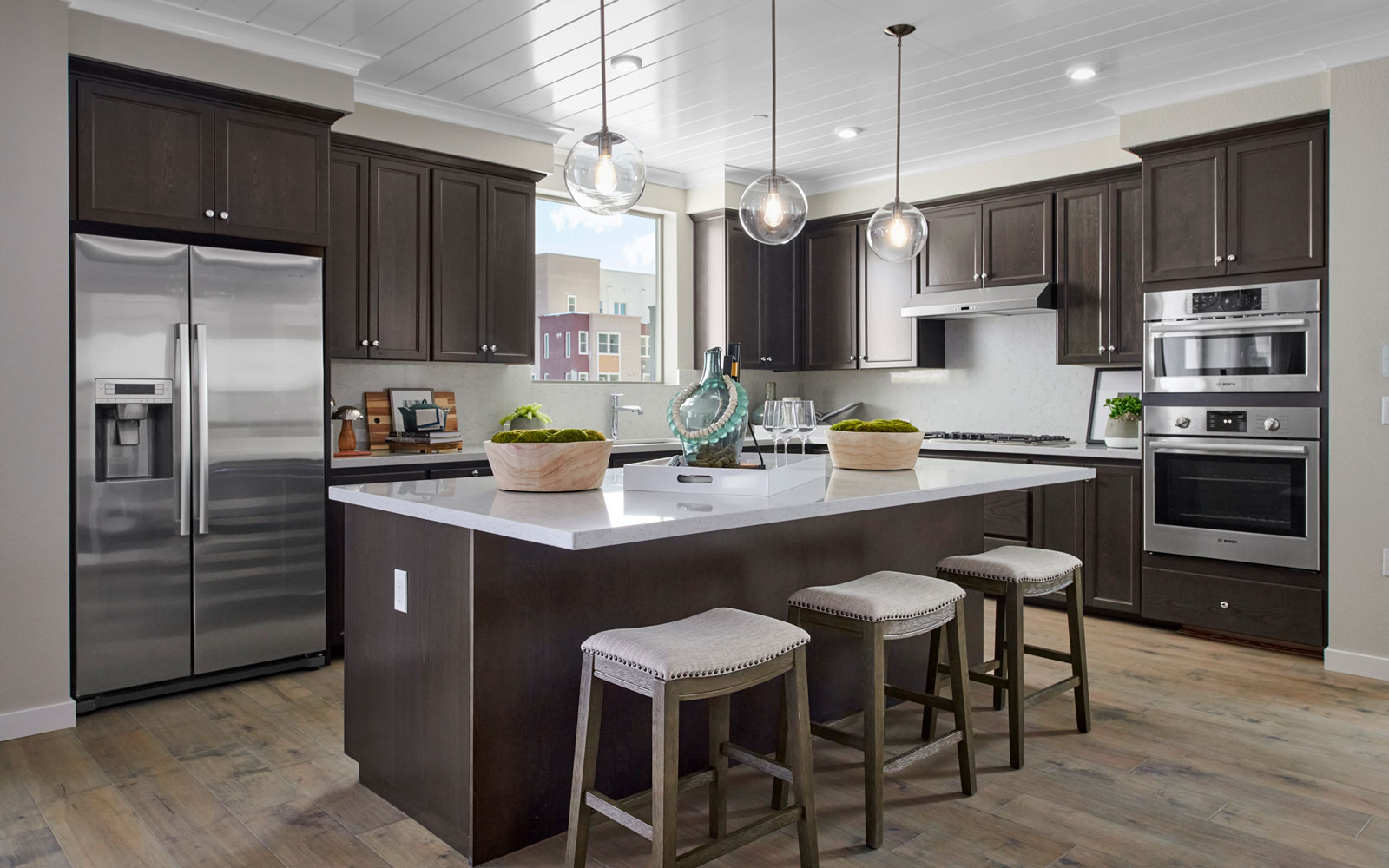 Kitchen | Residence 1 | Hyde Park at Boulevard in Dublin, CA | Brookfield Residential