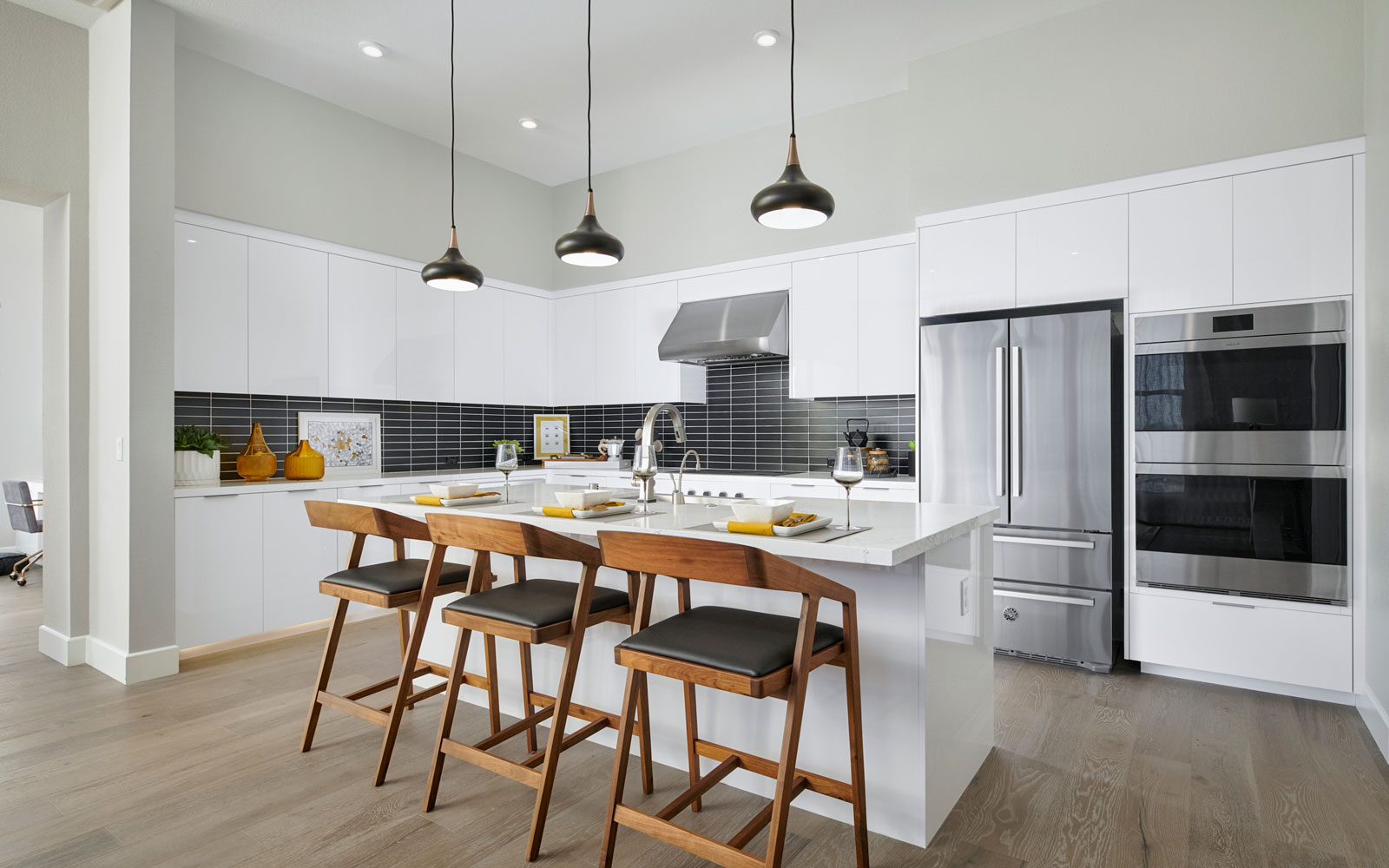 Kitchen   Residence 2   Hyde Park at Boulevard in Dublin, CA   Brookfield Residential