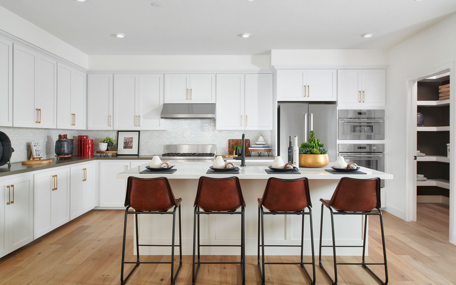 Kitchen | Residence 3 | Hyde Park at Boulevard in Dublin, CA | Brookfield Residential
