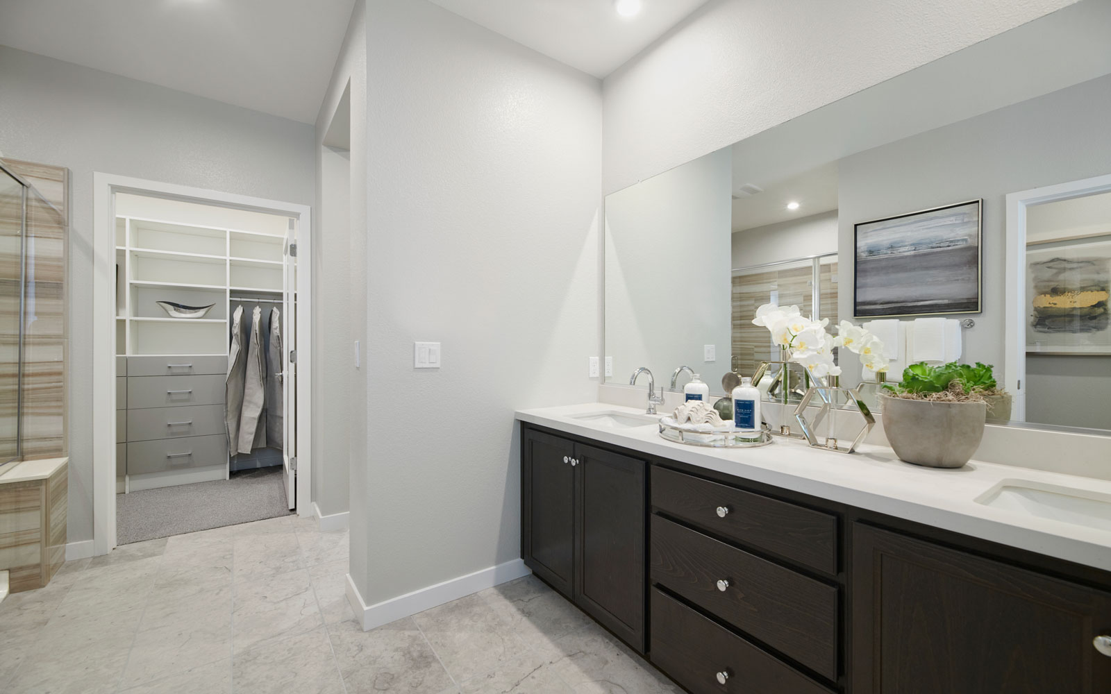 Master Bath | Residence 1 | Hyde Park at Boulevard in Dublin, CA | Brookfield Residential