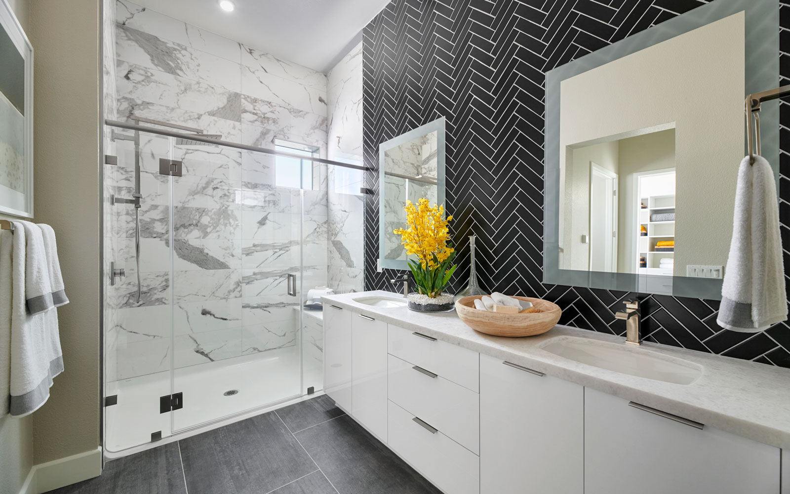Master Bath | Residence 2 | Hyde Park at Boulevard in Dublin, CA | Brookfield Residential