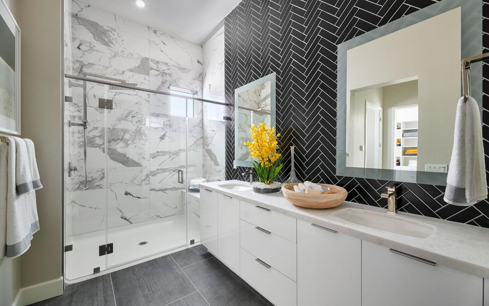 Master Bath | Residence 2 | Hyde Park at Boulevard in Dublin, CA | Brookfield Residential