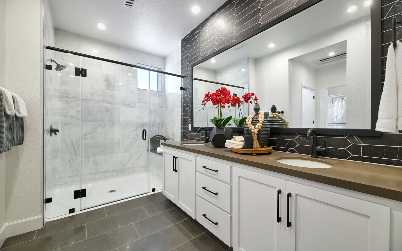 Master Bath | Residence 3 | Hyde Park at Boulevard in Dublin, CA | Brookfield Residential