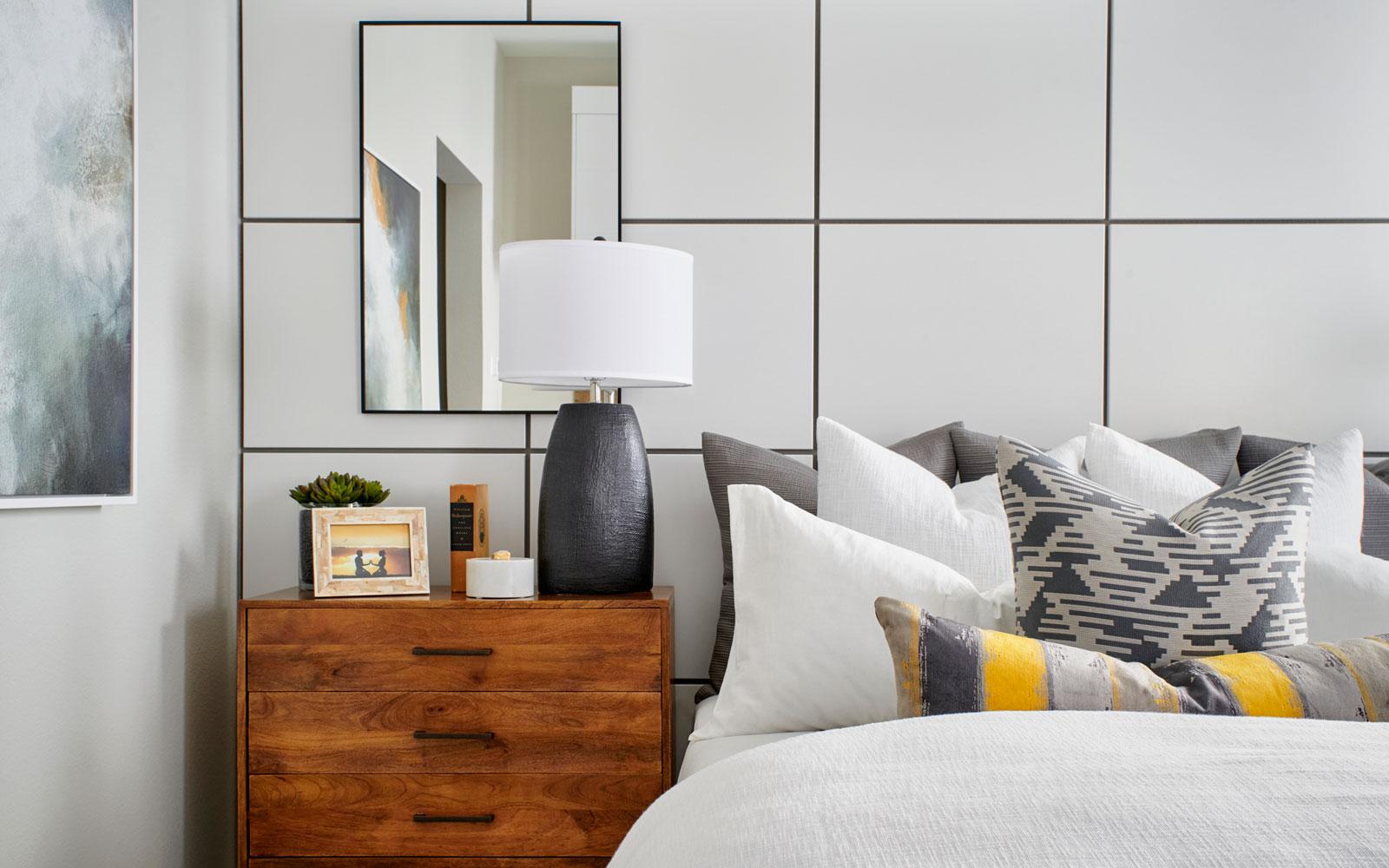 Master Bedroom detail | Residence 2 | Hyde Park at Boulevard in Dublin, CA | Brookfield Residential