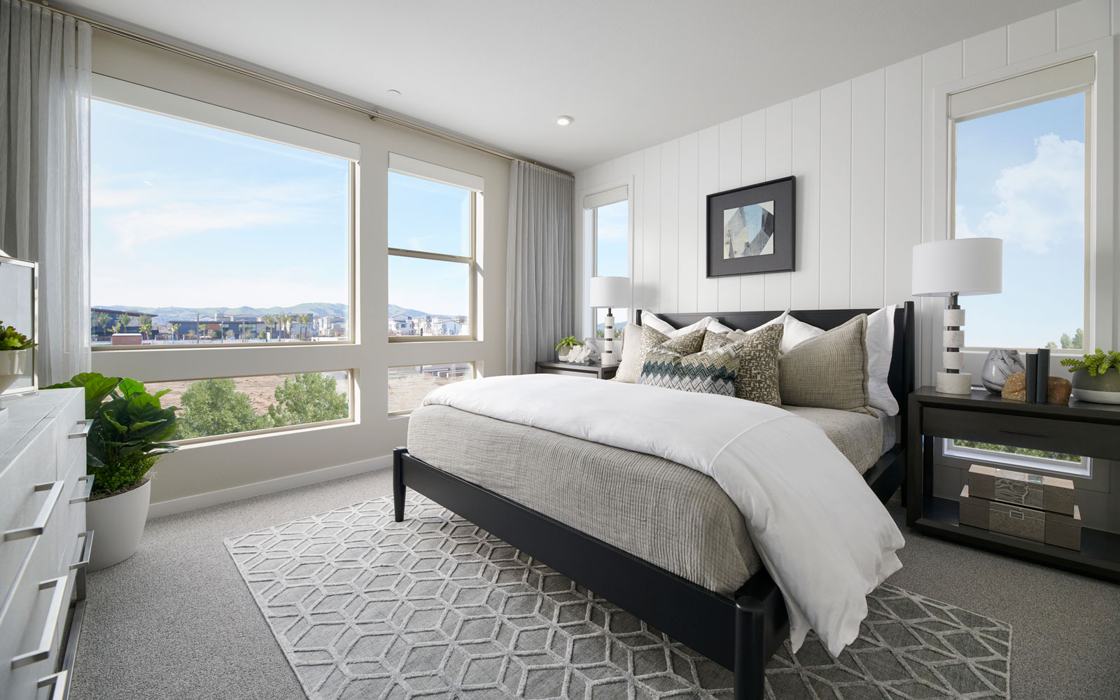 Master Bedroom | Residence 1 | Hyde Park at Boulevard in Dublin, CA | Brookfield Residential