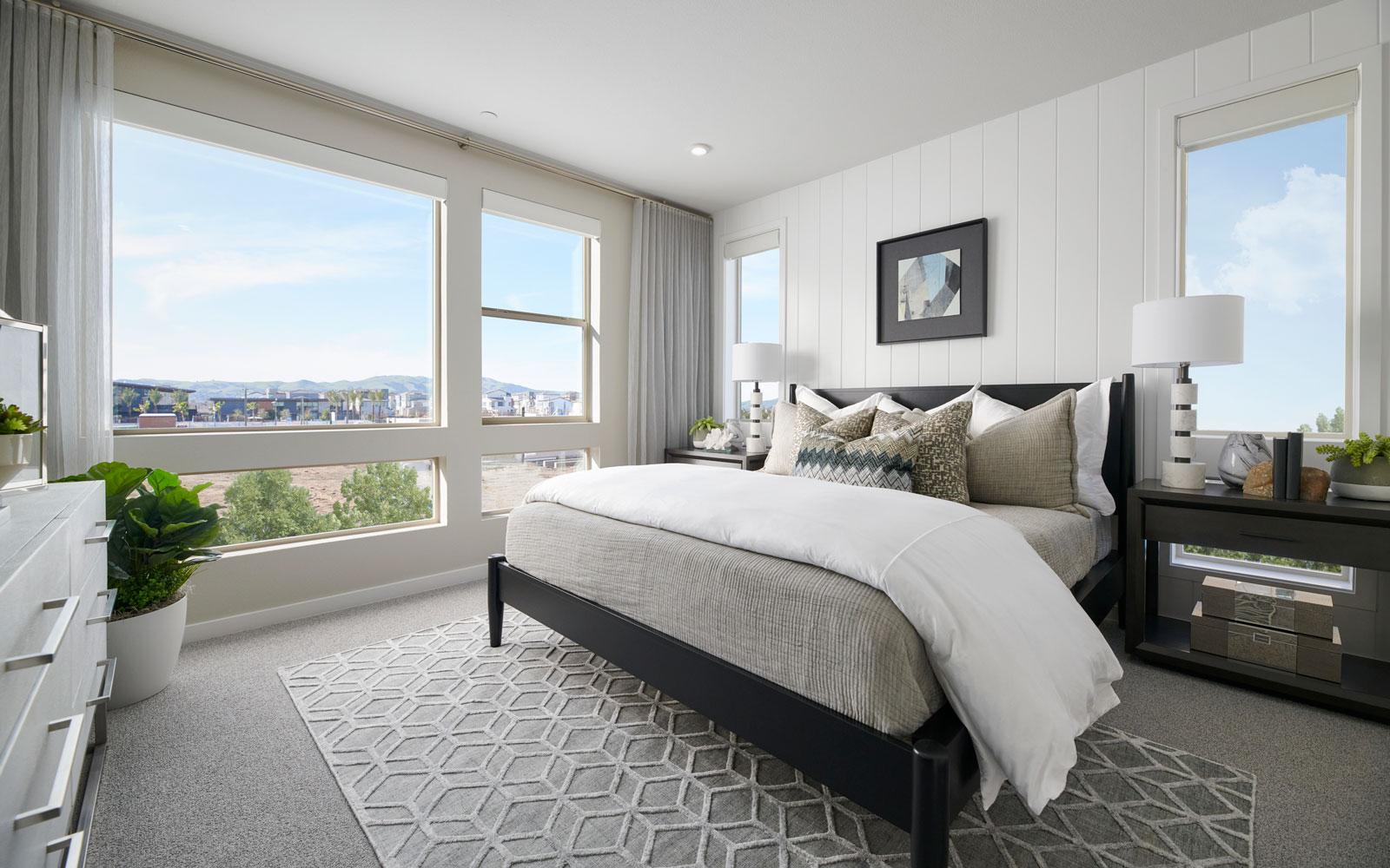 Master Bedroom   Residence 1   Hyde Park at Boulevard in Dublin, CA   Brookfield Residential