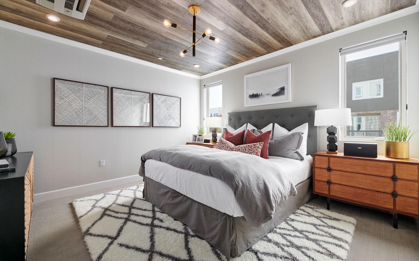 Master Bedroom | Residence 3 | Hyde Park at Boulevard in Dublin, CA | Brookfield Residential