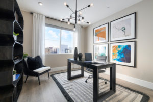 Office in Residence 4 at Broadway at Boulevard in Dublin, CA by Brookfield Residential